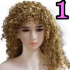 Wig 01: Brown Curly Hair