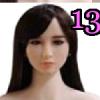 Wig 13: Long Black Side-Swept