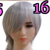 Wig 16: Short White Pixie