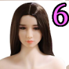 Wig 06: Long Brown Straight