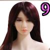 Wig 09: Long Purple Straight